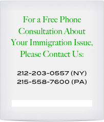 Special Immigration Considerations for Same Sex Couples